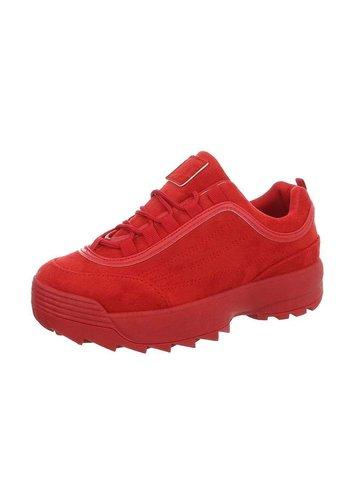 Neckermann Chaussures de sport pour femme rouge