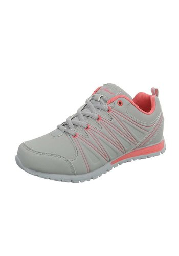 Neckermann Chaussures de sport pour femme gris / rose