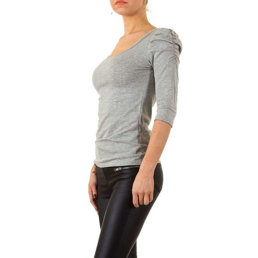 Chemise femme grise