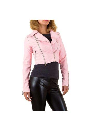 Neckermann Damenjacke kurz pink