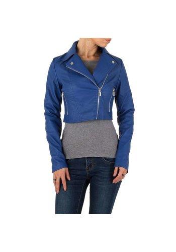 Neckermann Damenjacke kurz blau