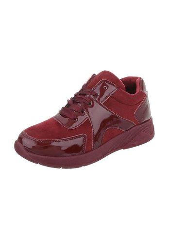 Neckermann Chaussures de sport pour femme rouge semi brillant