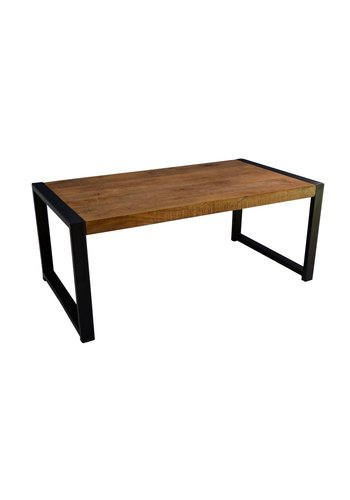 Neckermann Table basse - bois de teck - 110x60x45 cm