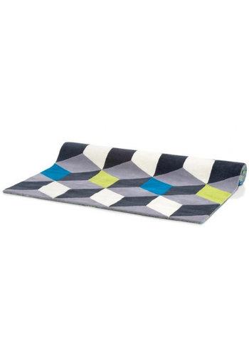 Neckermann Vloerkleed - Tapijt - 3D blokken - 160x230 cm