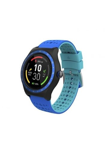 SPC SmartWatch Blauw met stappenteller SPC 9625P BT4.0 1.3