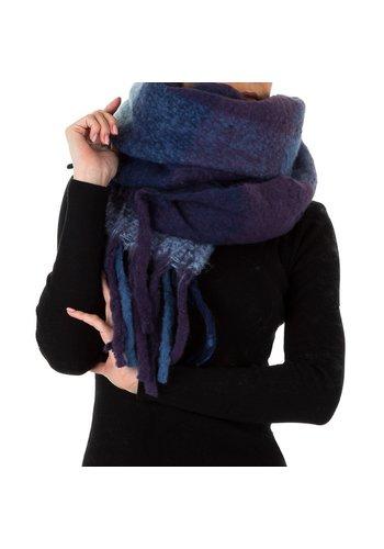 HOLALA Damessjaal van Holala Gr. Eén maat - blauw