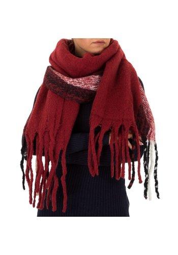 Neckermann Damen Schal von Holala Gr. One Size - bordeaux