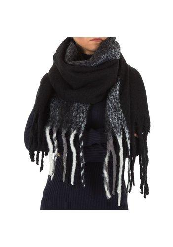 HOLALA Damessjaal van Holala Gr. Eén maat - zwart