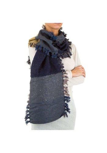 Best Fashion Damesjaal van Best Fashion Gr. een maat - blauw