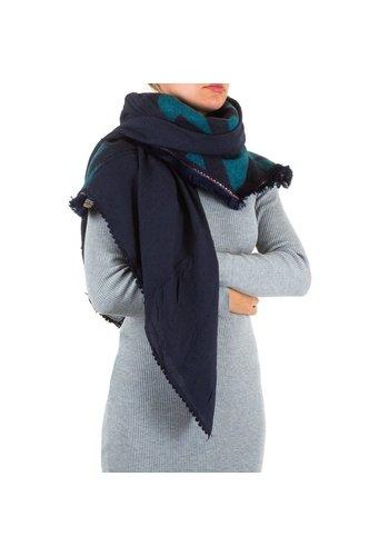Best Fashion Damesjaal van Best Fashion Gr. één maat - DK.blauw