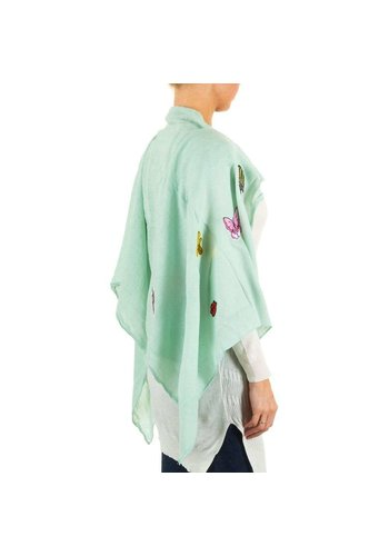 Best Fashion Damesjaal van Best Fashion Gr. een maat - mint
