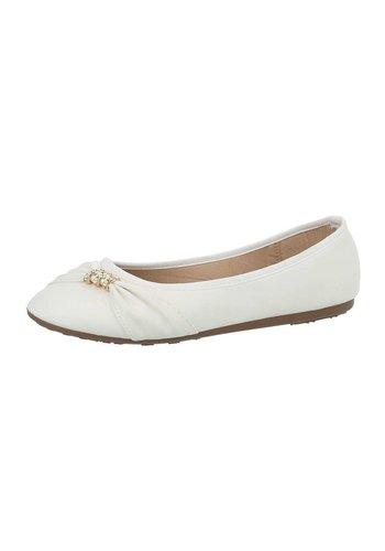 Neckermann Damen Ballerinas - white