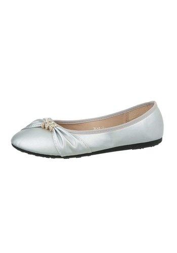 Neckermann Damen Ballerinas - silver
