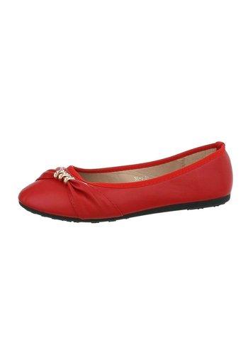 Neckermann Damen Ballerinas - red