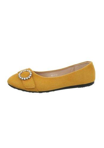 Neckermann Damen Ballerinas - yellow