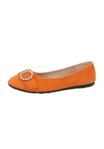 Neckermann Dames ballerina's - oranje