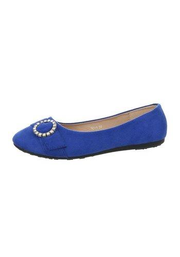 Neckermann Ballerina's dames - blauw
