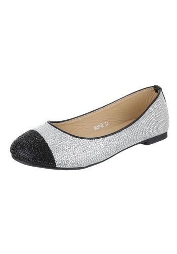 Neckermann Damen Ballerinas - silver