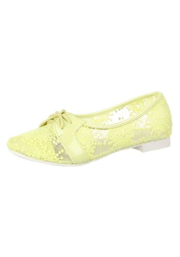 Neckermann Damen Ballerinas - yellow