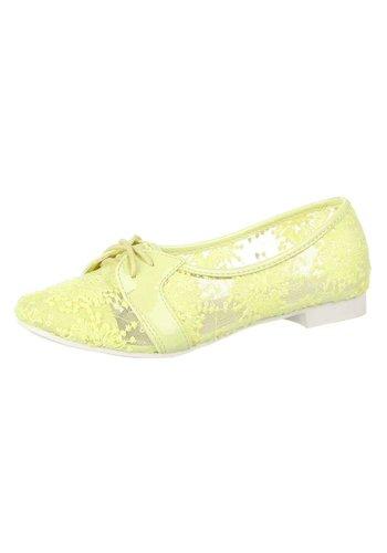 Neckermann Dames Ballerina's - geel