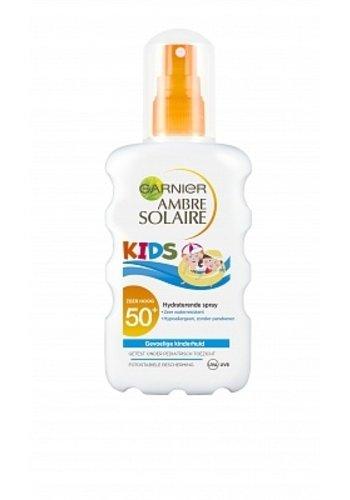 Garnier Zonnebrand Kids Spray Factor(spf)50+
