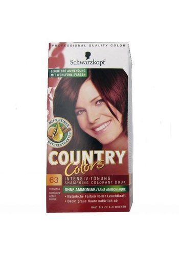 Schwarzkopf Milde kleurhampoo - country colors - 63 beukenrood