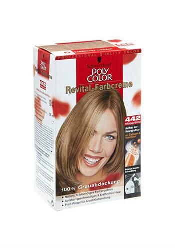 Schwarzkopf Haarfärbemittel - Revital Color Cream - Mittlere aschblonde