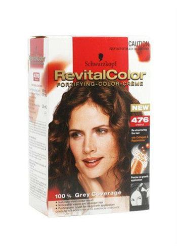 Schwarzkopf Haarfarbe Revital 476 Kastanie Mittelbraun