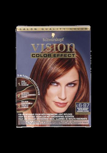 Schwarzkopf Vision Farbeffekt Braun-Bronze