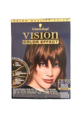 Schwarzkopf Vision Farbeffekt Braun-Bronze - Copy
