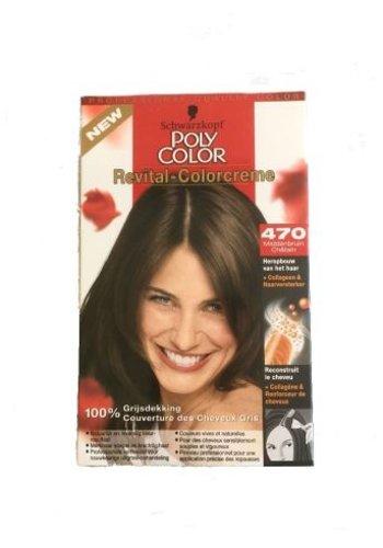 Schwarzkopf Couleur des cheveux Revital 470 Brun moyen