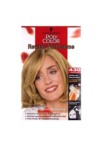 Schwarzkopf Couleur des cheveux Revital 430 blond clair