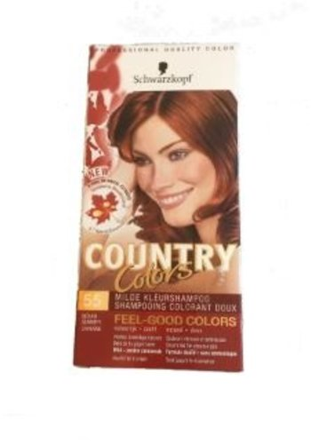 Schwarzkopf Milde kleurhampoo - country colors - 55 indian summer