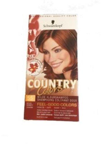 Schwarzkopf Shampooing couleur doux - Couleurs du pays - 63 rouge hêtre - Copy