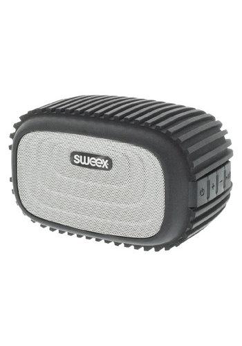 Sweex Bluetooth-Speaker Mono 4 W Ingebouwde Microfoon Zwart/Zilver