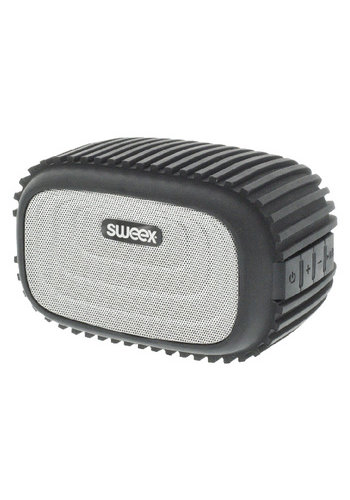 Sweex Haut-parleur Bluetooth Microphone intégré Mono 4 W Noir / Argent