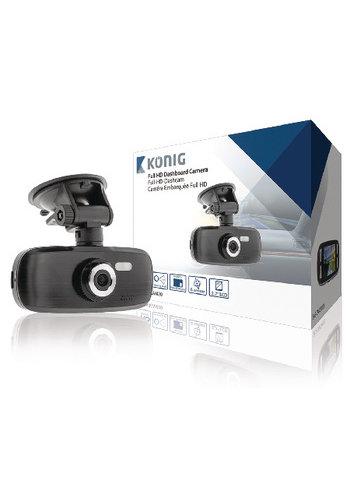 "KONIG 2,7 ""Dashboard-Kamera 1920 x 1080"