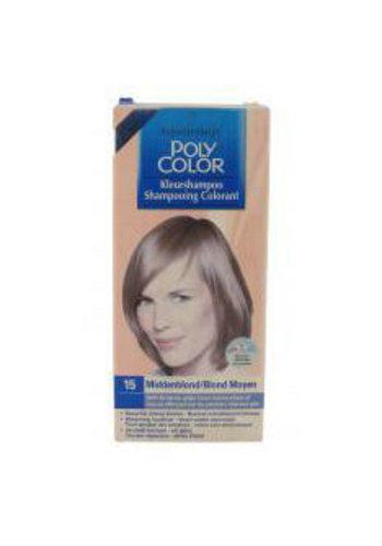 Schwarzkopf Shampooing couleur - Teinture pour les cheveux - 15 - Blond moyen
