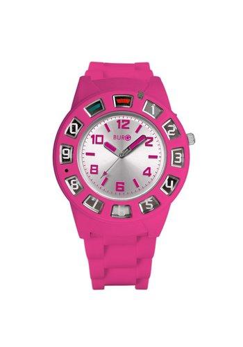 Neckermann Telefonuhr - pink