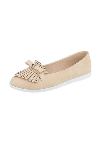 Neckermann Damen Ballerinas - beige