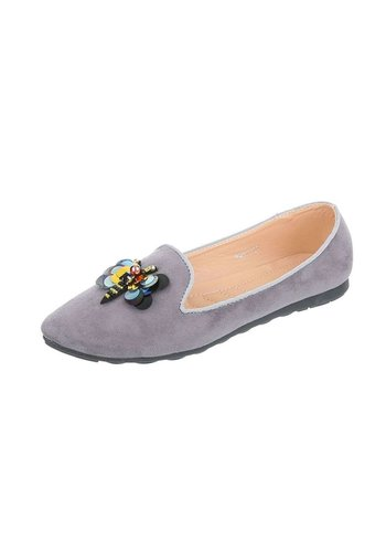 Neckermann Damen Ballerinas - gray