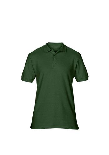 Gildan Polo Damen Kurzarm grün