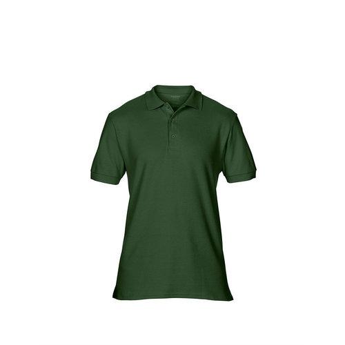 Gildan Polo femme manches courtes vert