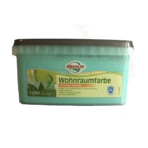 Genius Pro Wandfarbe - seidenmatt - safira - 1 Liter