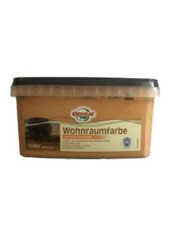 Genius Pro Wandfarbe - seidenmatt - macchiato - 1 Liter
