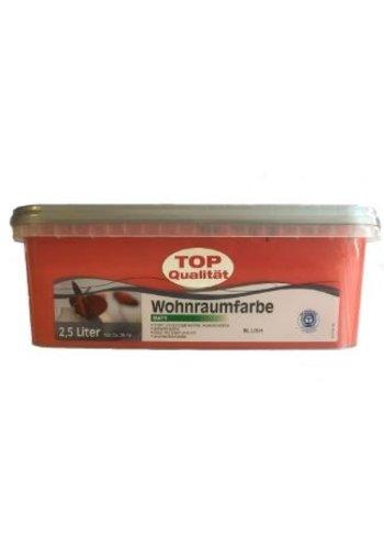 Genius Pro Wandfarbe - matt - rot / rot - 2,5 Liter
