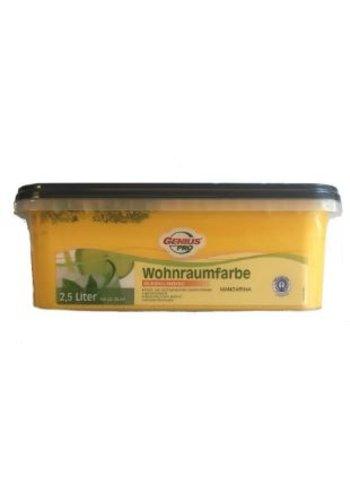 Genius Pro Muurverf - zijdeglans - mandarijn - 2,5 liter