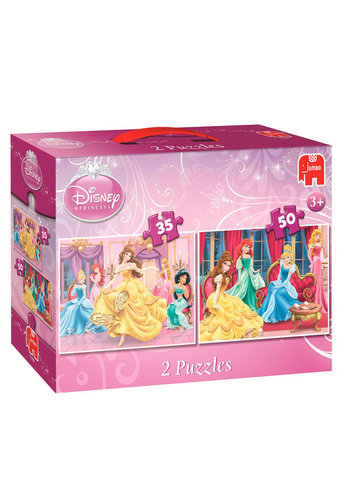 Disney Prinzessin Belle Puzzle 2in1