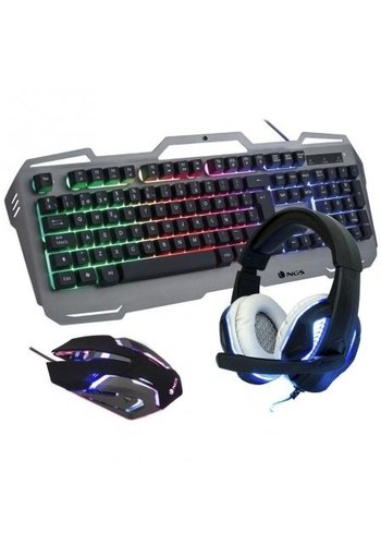 NGS Technology PACK GAMING - TASTATUR RGB USB