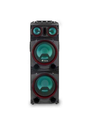 NGS Technology Haut-parleur Bluetooth - 300 W - Wild Punk - Conduite / jeux